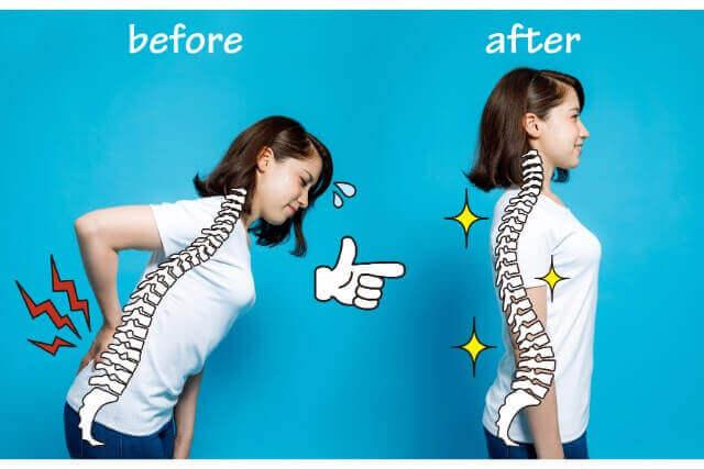 正しい姿勢とは?簡単3ステップで姿勢を改善する方法